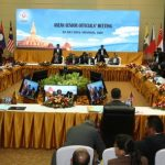 ASEAN Foreign Ministers' Meeting Concludes In Laos