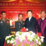 Chinese People's Liberation Army Day Marked in Vientiane