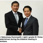 Laos, Singapore Vow to Enhance Cooperation