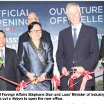 Canada Opens Diplomatic Office in Vientiane Capital