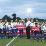 Lao U-16 Women's National Football Team Achieves Goal