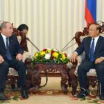 Vice Prime Minister Receives Linfox President