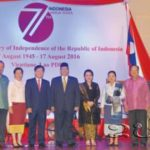 Indonesia Celebrates Independence Day in Laos