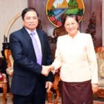 NA President Receives Vietnamese Guest