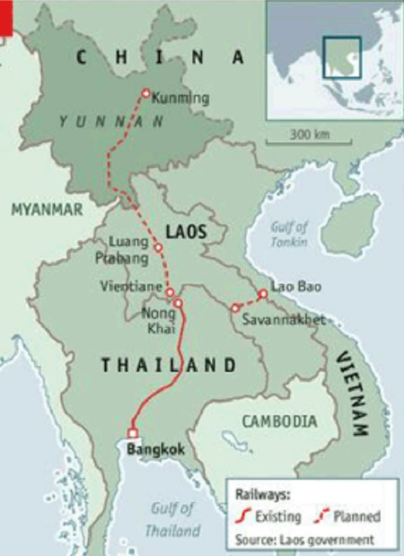 Laos-China-Rail-Expected-To-Begin-Construction-In-November