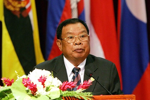 Bounnhang-Vorachit-New-President-Of-The-Lao-PDR