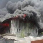 House Fires Raze Properties in Vientiane
