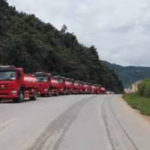 Laos Orders Fire Trucks from China