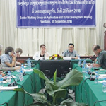 Govt Officials and Partners Discuss Agricultural Development