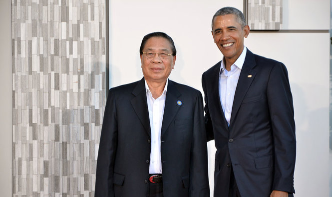 tong-thong-barack-obama-tiep-tong-bi-thu-chu-tich-nuoc-lao-choummaly-sayasone--1455585367