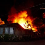 Three Fires Engulf Properties in Vientiane