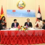 Vietnam and Laos Reaffirm Highest Priority Ties
