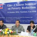 Chinese Group Backs Poverty Eradication Efforts