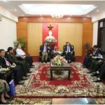 Lao Ambassador Pays Working Visit to Ha Tinh
