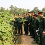 Laos, Vietnam Armies Share Security Defence Experiences