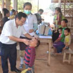 Infant Immunisation against Polio Falling Short of Target in Meun District