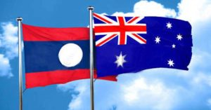 Laos and Australia 65 years