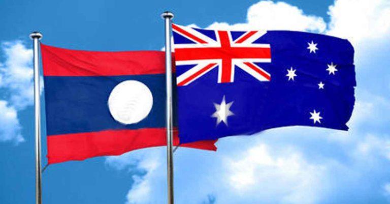 Laos and Australia 65 years