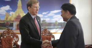 Laos and the US strengthen ties