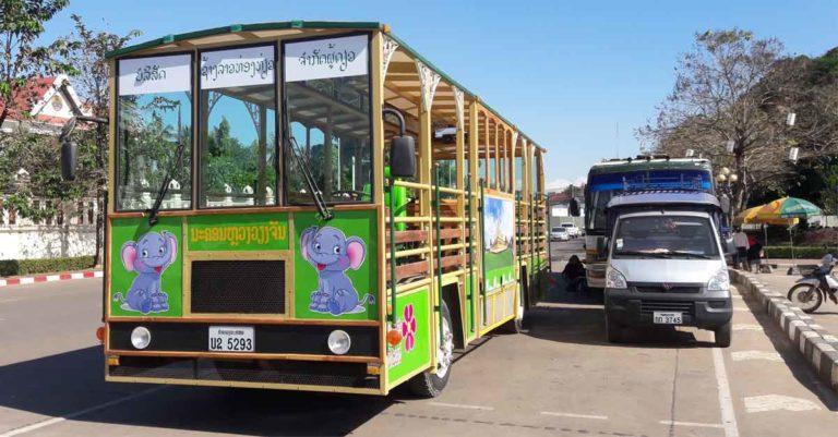 Vientiane Sightseeing Bus