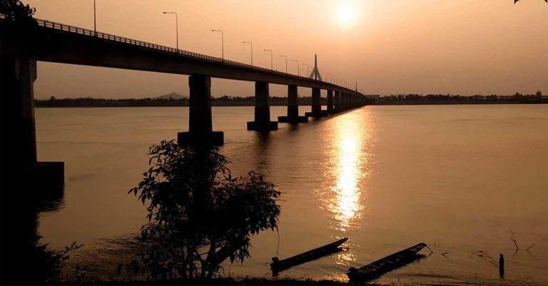 Laos and Cambodia Bridge