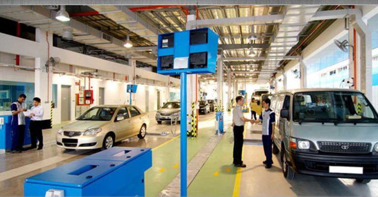 Laos Vehicle Inspection Center