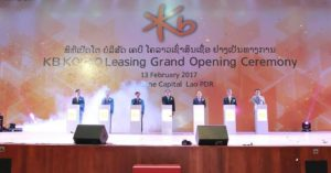 KO Kolao Leasing Enters Lao Local Leasing Market