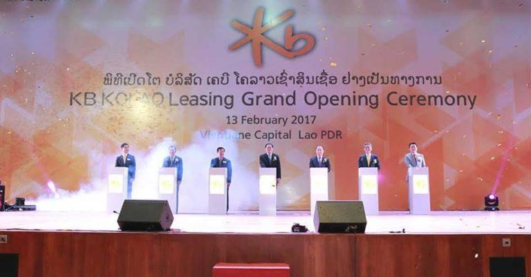 KO Kolao Leasing Enters Lao Local Leasing Market